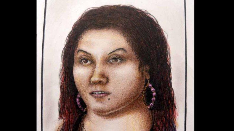 Identikit de la mujer asesinada en inmediaciones de Mari Menuco.